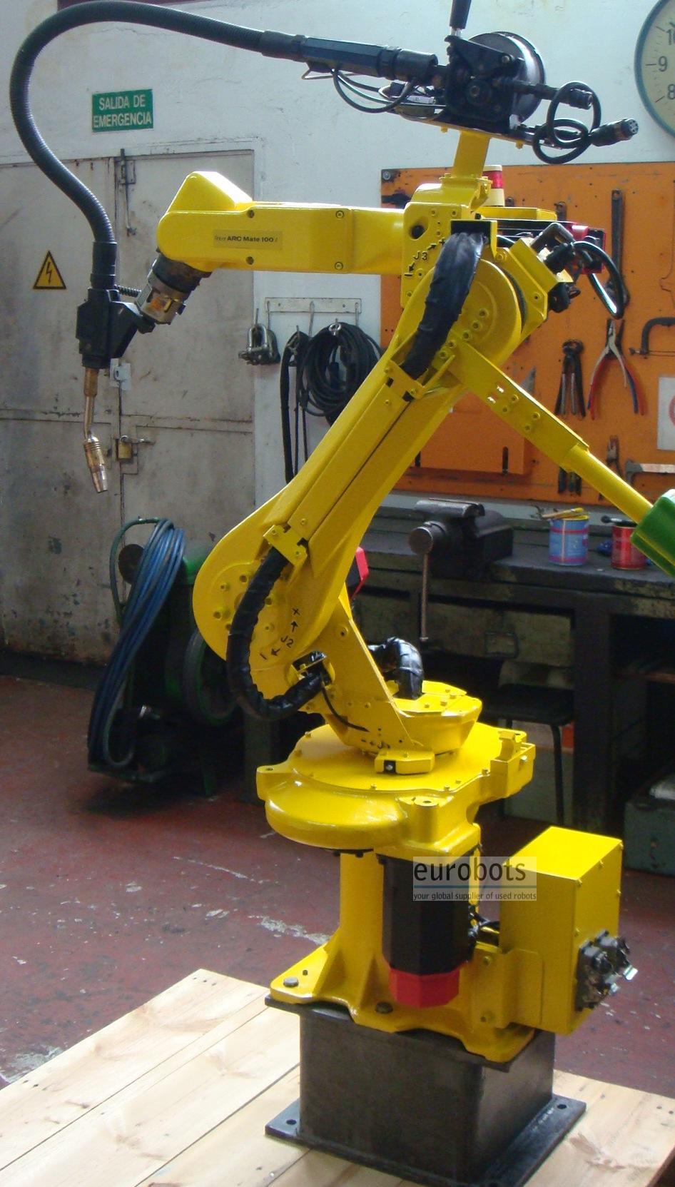 robot used fanuc fanuc 100i arcmate eurobots rh eurobots com ar